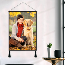 Custom Pet Photo Wall Tapestry Personalized Wall Hanging