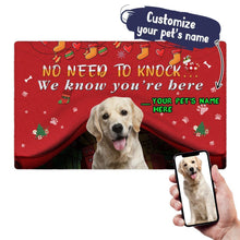 Customize Doormat With Your Pet's Photo And Name