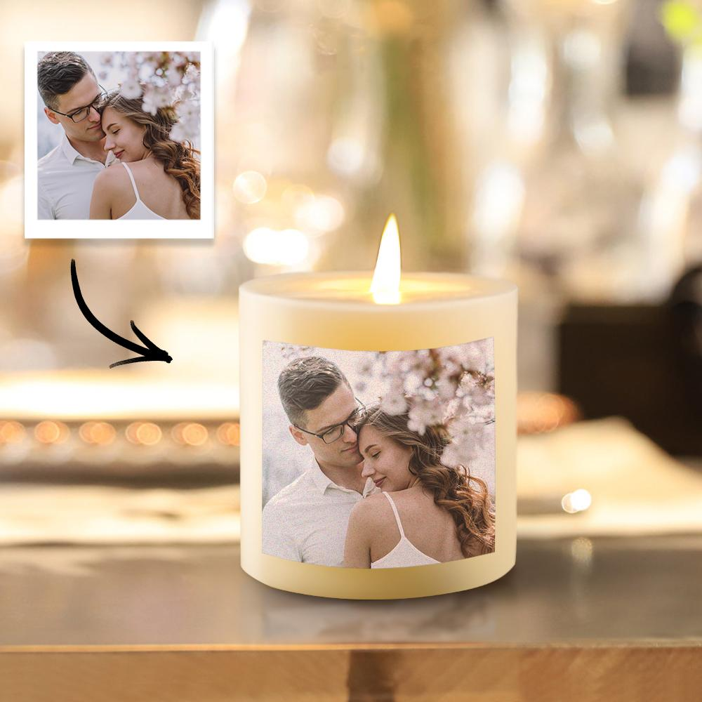 Custom Photo Candle Memorial Candle Unique gifts