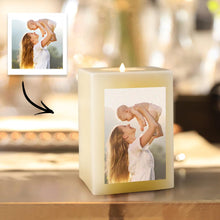 Personalized Photo Candle Home Decoration