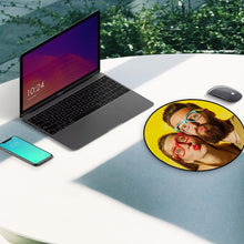 Custom Photo Round Mouse Pad Gifts for Couple 20*20cm