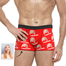 Custom Love Face Boxer