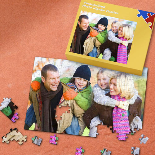 Personalized Photo Jigsaw Puzzle Best Gift for Family  35-1000 Pieces