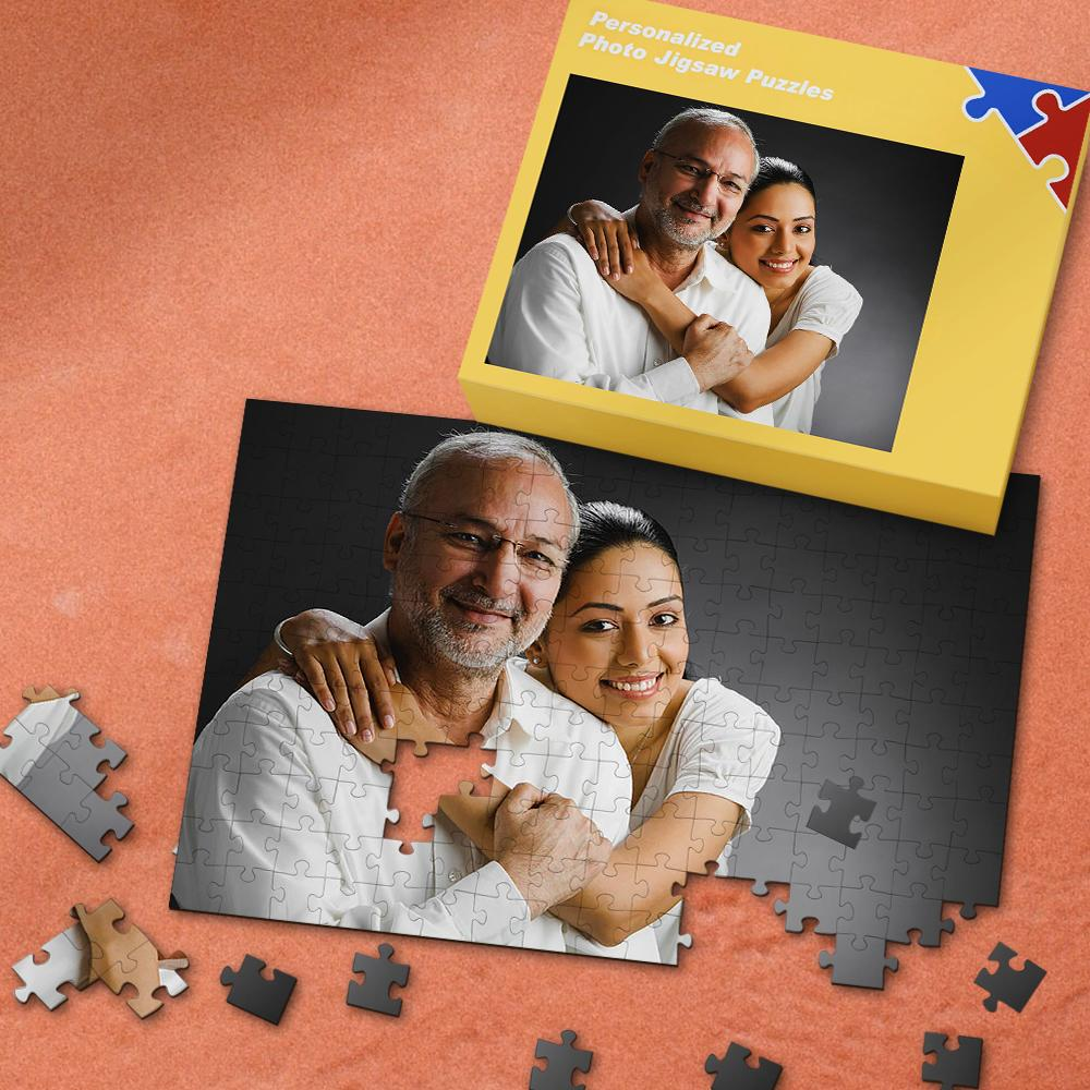 Father's Day Gifts Custom Photo Puzzle 35-1000 Pieces