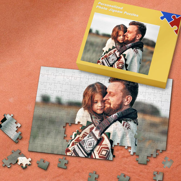 Custom Photo Puzzle Father's Day Gifts 35-1000 Pieces