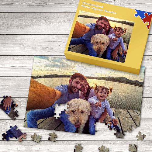 Custom Picture Jigsaw Puzzle Best Gifts 35-1000 Pieces