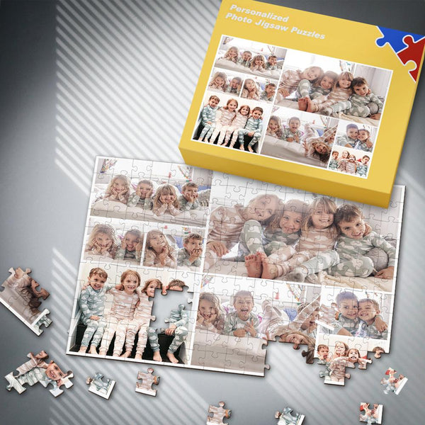 Custom Cute Kids Photo Puzzle 35-500 Pieces