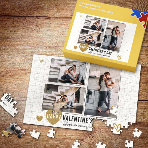 Custom Love Is Everywhere Gifts Photo Puzzle35-500 Pieces