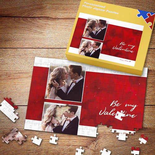 Be My Valentine Custom Photo Puzzle 35-500 Pieces