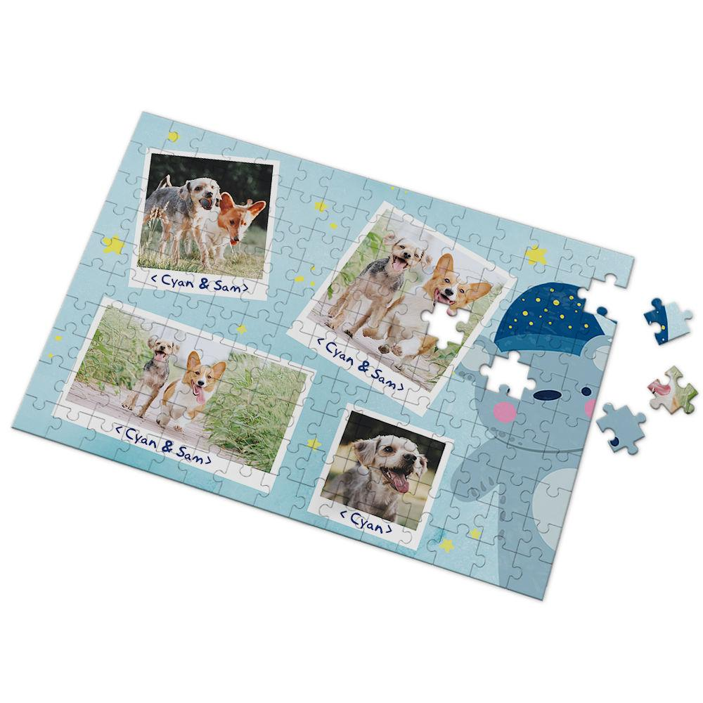 Custom Photo Puzzle Cute Dog 35-500 Pieces