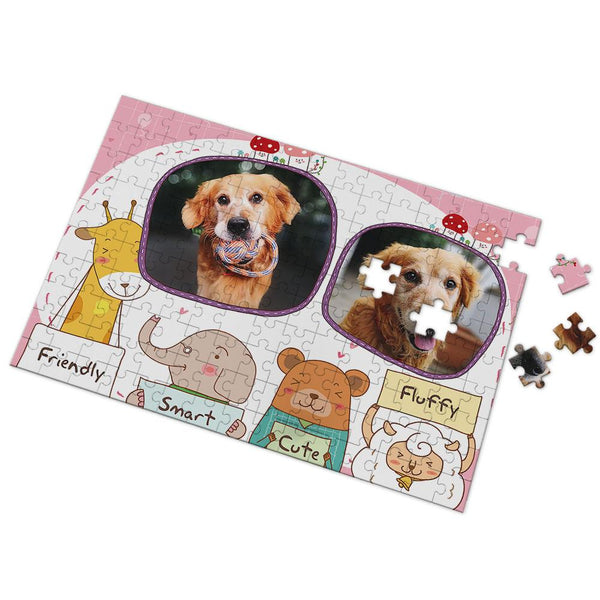 Custom Lovely Pet Photo Puzzle 35-500 Pieces