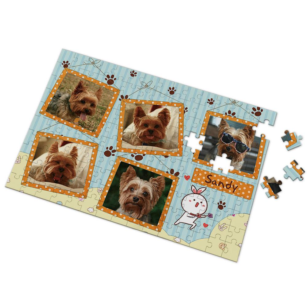 Custom My Pet Photo Puzzl 35-500 Pieces