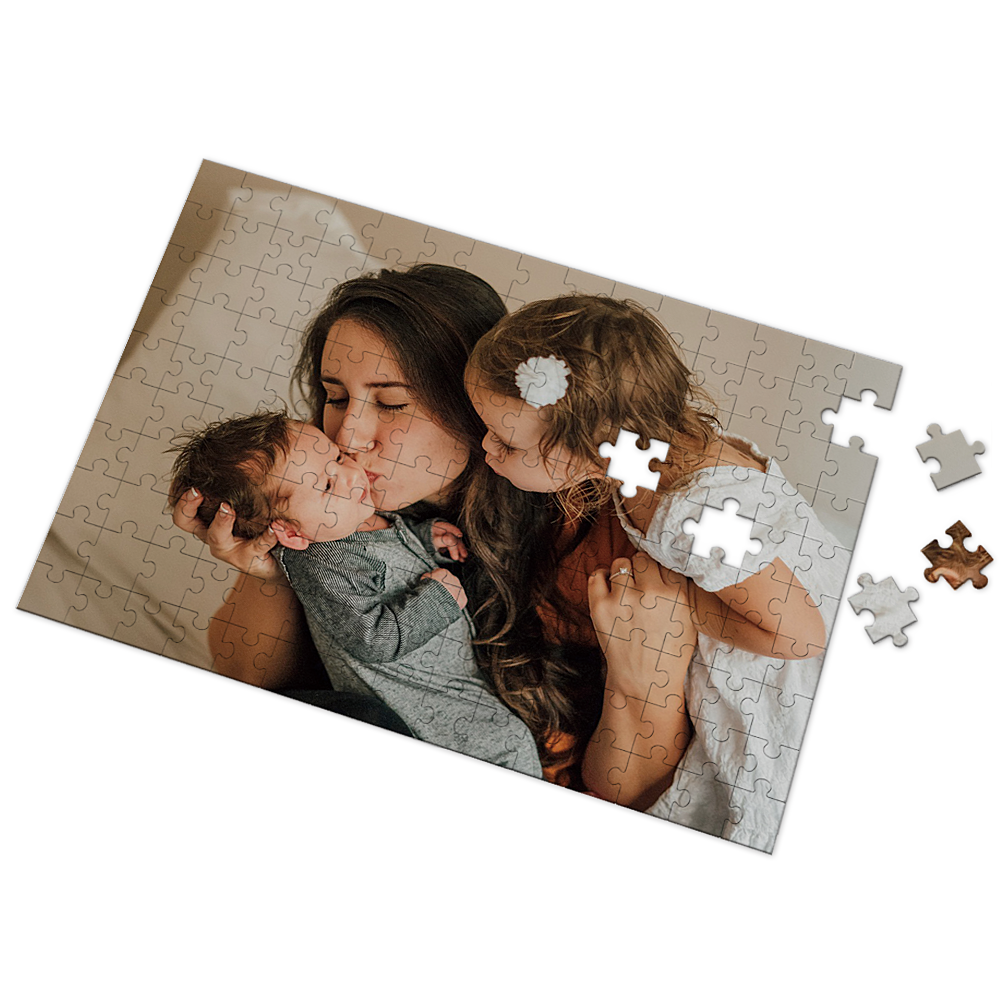 Custom Photo Puzzle Mother's Day Gifts 35-500 Pieces