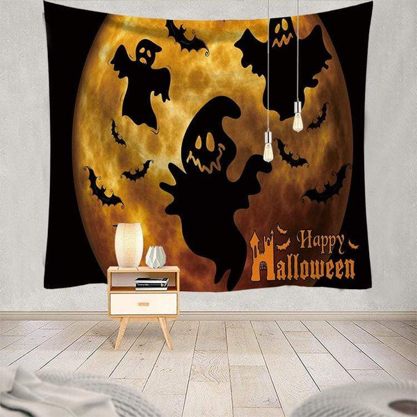 Halloween Tapestry Decor Party Decoration Wall  Halloween Gifts