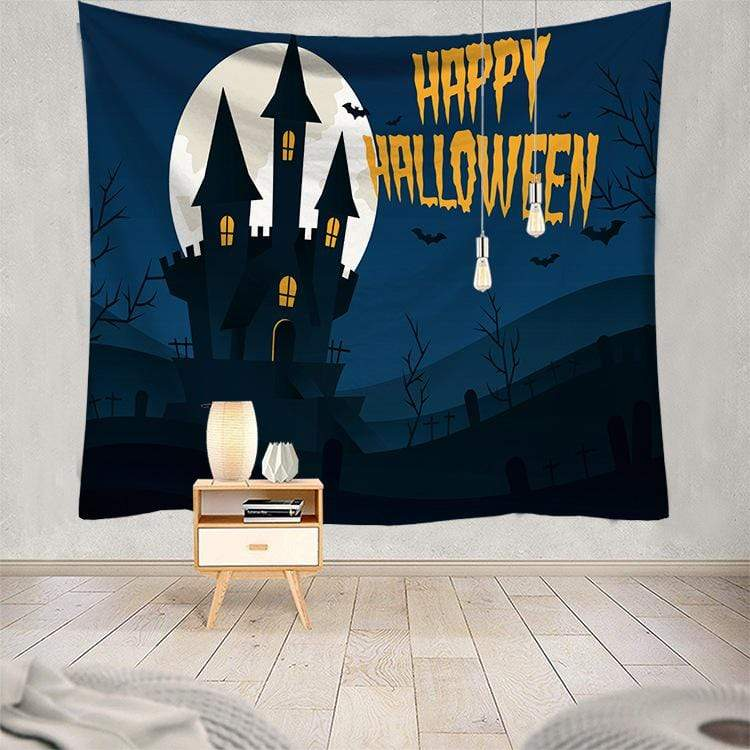 Halloween Tapestry Home Party Decoration Wall Decor Gifts for Halloween