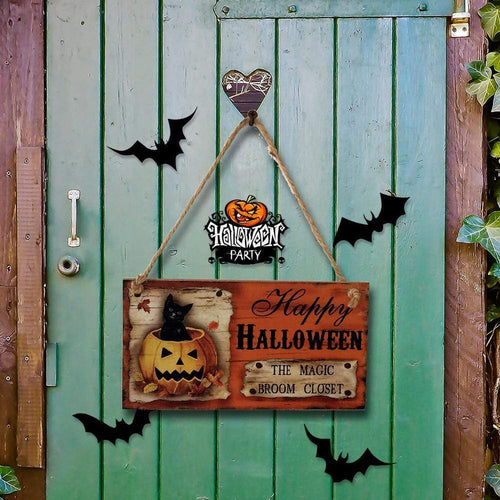 Halloween Door Decor for Halloweem Home Party