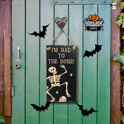 Halloween Party  Skull Pattern Door Decoration Gift For Halloween