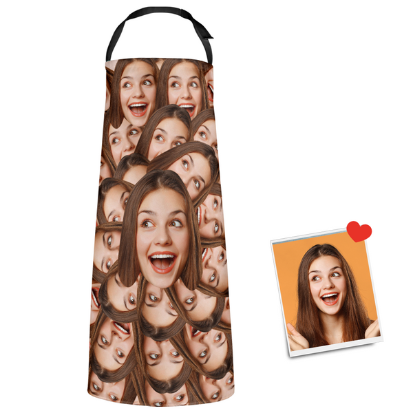 Custom Face Apron Your Funny Mash Chef Gift