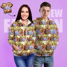 Custom Unisex Hoodie Casual Printed Photo Hoodie For Men Women - Upload Your Photo