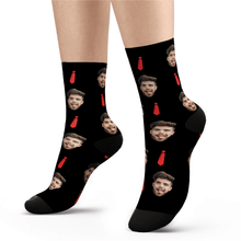 Custom Red Tie Socks