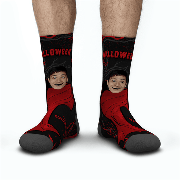 Halloween Custom Men's Monster Socks