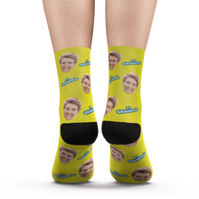 Custom #1 Grandma Photo Socks