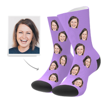 Valentine's Day Gift-Custom Face Socks