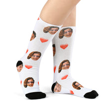 Photo Socks, Custom Love Face Socks