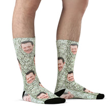 Custom Money Socks