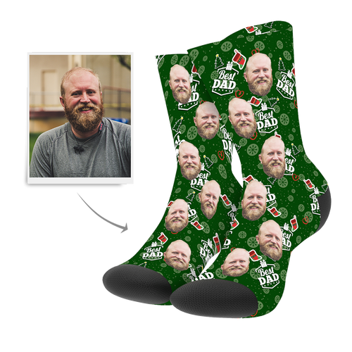 Christmas Custom Dad Socks