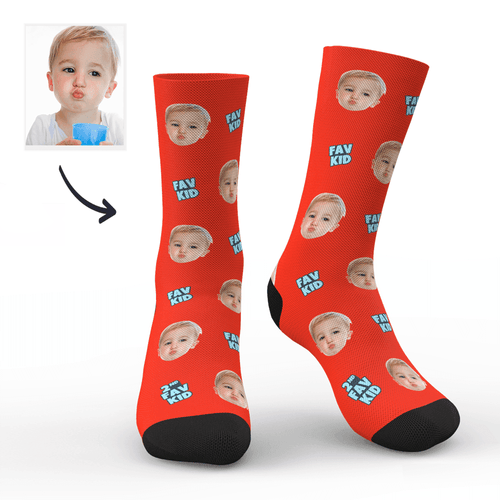 Custom Fav Kid Socks