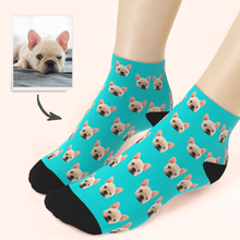 Custom Face Pet Ankle Socks