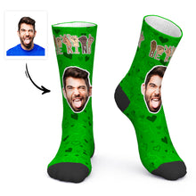 Custom Photo Socks ASL Socks Sign Language Socks