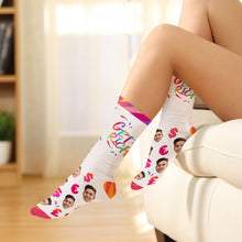 Custom Photo Sign Language Socks ASL Socks-Get Rich
