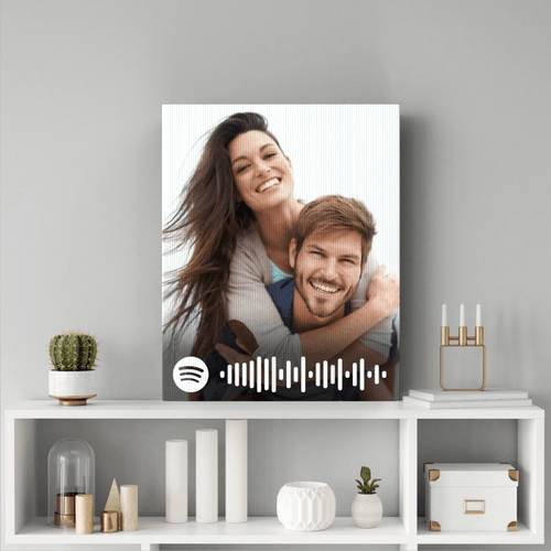 Personalized Spotify Music Code Painting Wall Decoration