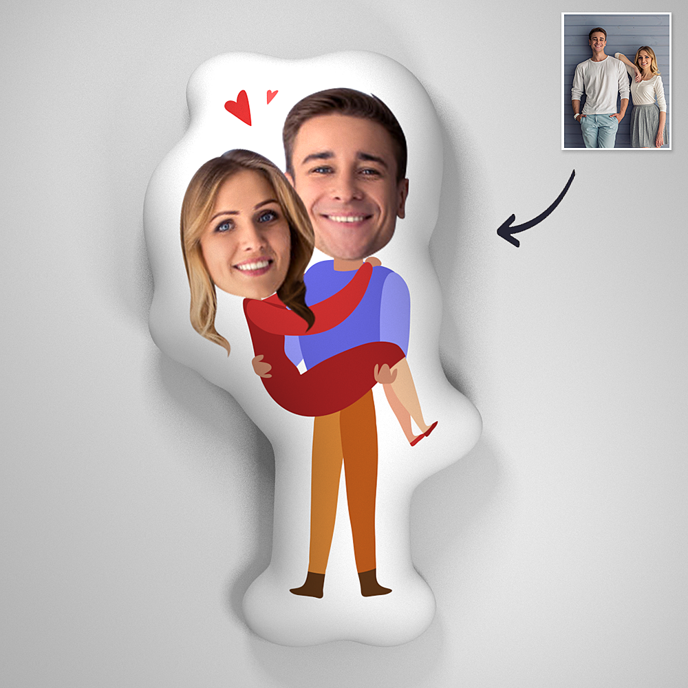Couple Photo Romatic Comfortable Cute Pillow