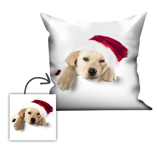 Christmas Gift Limited Offer Custom Couple Photo Throw Pillow