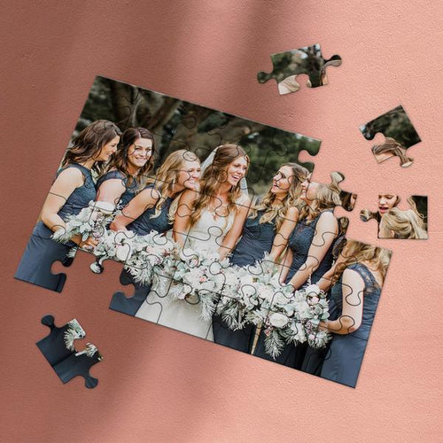 Graduation Gifts - Custom Photo Puzzle for Your Memory Perfect Idea as Personalized Gifts 35-1000 Pieces