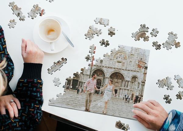 Custom Photo Jigsaw Puzzle Best Stay At Home Gifts 35-1000 Pieces