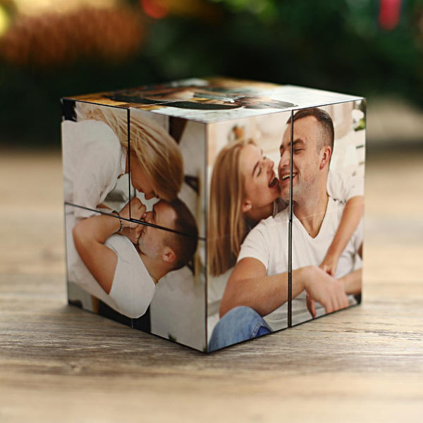 Custom Photo Rubik's Cube Christmas Gift