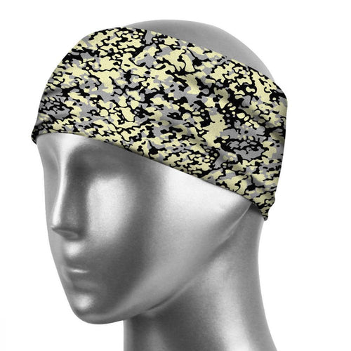 Sports Sweatband Unisex Design Sweat Wicking Fabric Fits All Head Sizes Workout Sweatbands for Running, Cross Training, Yoga and Bike Helmet - Wild
