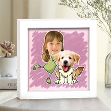 Photo Frame Home Decoration Unique Stereoscopic Cute Pet Gift