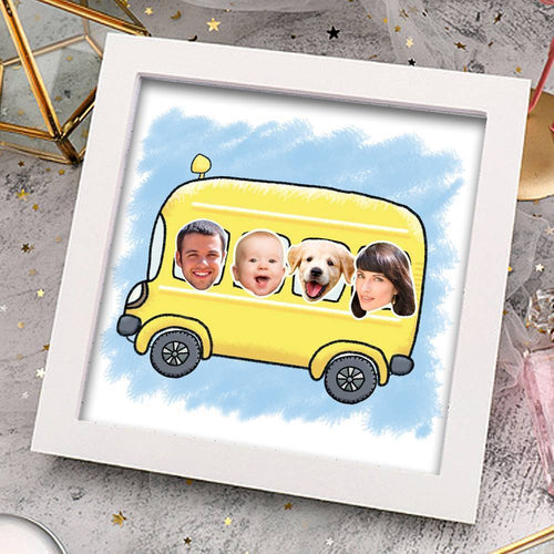 Custom Creative Family Photo Frame Home Decoration Stereoscopic Family Gift