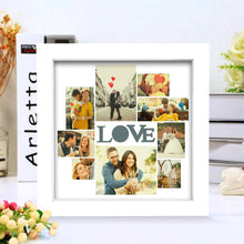 Creative Custom Photo Frame 9 Pictures LOVE Picture Couple's Gift