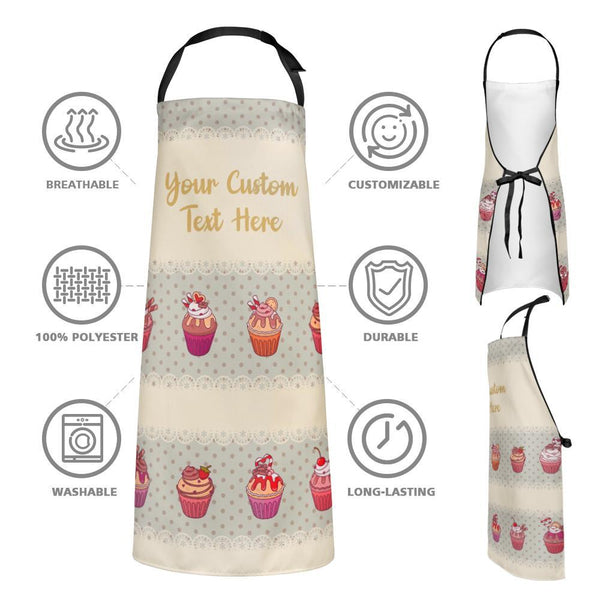 Custom Text Kitchen Cooking Apron