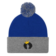 Load image into Gallery viewer, QUEEN - Pom Pom Knit Cap