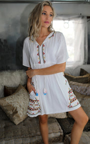 READY FOR YOU EMBROIDERY DRESS