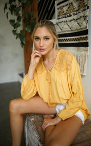 SUNFLOWER BLOUSE