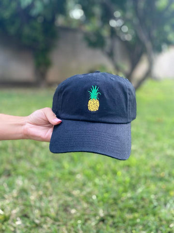 Pineapple - Dad Hat (Black)