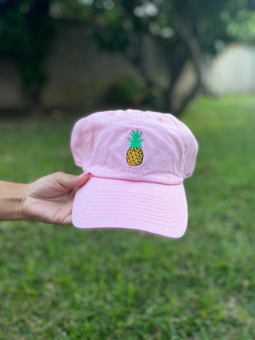Pineapple - Dad Hat (Pink)